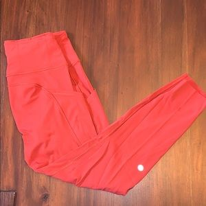 Lululemon fast and free 25' non-reflective tight